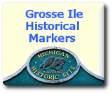 Grosse Ile Historic Site Markers